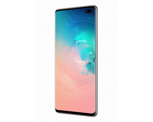 Mobilais telefons SAMSUNG Galaxy S10+ 512GB Ceramic balts