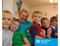 "Donation SOS Children's Villages Latvia ""A loving home for every child"""