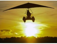 Полет на дельтаплане  над  Ригой