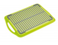 Colourworks Anti-Slip Serving Tray - Green