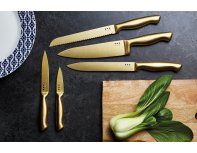MasterClass 5-Piece Brass-Coloured Stainless Steel Knife Set