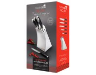 Набор ножей MasterClass Trojan 5 Piece Knife Set Stainless Steel Block
