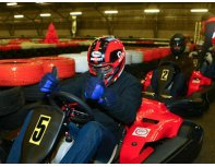 Go-kart racing (for 1 person)