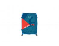 Personalizēts L izmēra RAIBUM ceļojumu koferis