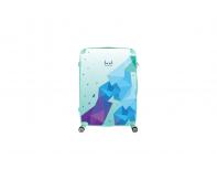 Suasmenintas L dydžio RAIBUM kelioninis lagaminas