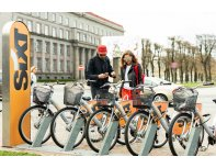 Sixt rent a bicycle in Riga and Jurmala. One month subscription.