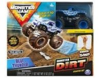MONSTER JAM Off-Road Kinetic Dirt Starter Toy Set