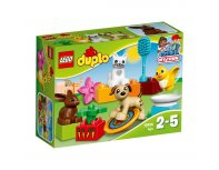 LEGO DUPLO Town Family Pets  konstruktors