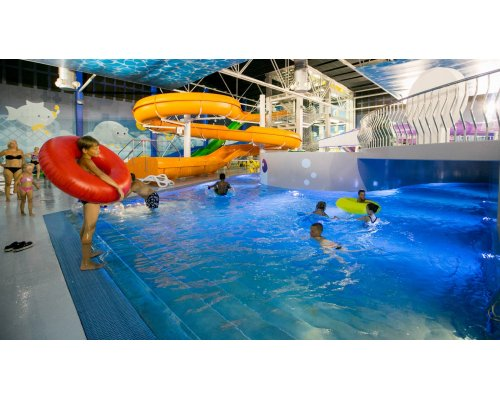 Ūdens prieki akvaparkā Atlantis H2O Aquapark