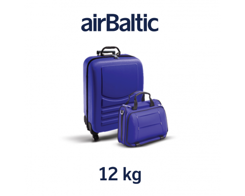 Heavy cabin baggage, 12 kg