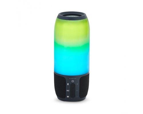 JBL portatīvā skanda ar LED gaismas efektiem, ūdensizturīga, 12h, melna,JBLPULSE3BLKEU