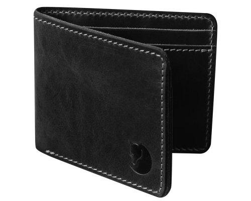 Fjällräven Övik Wallet Leather Black