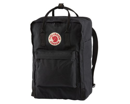 "Fjällräven Kånken Padded Laptop Bag 17"" Black"