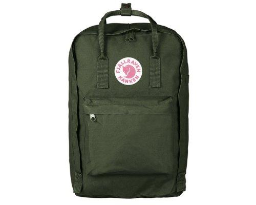 """Fjällräven Kånken Padded Laptop Bag 17"""" Forest Green"""
