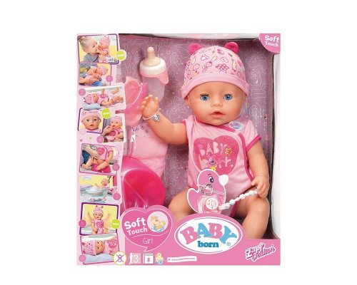 Interactive doll SOFT TOUCH