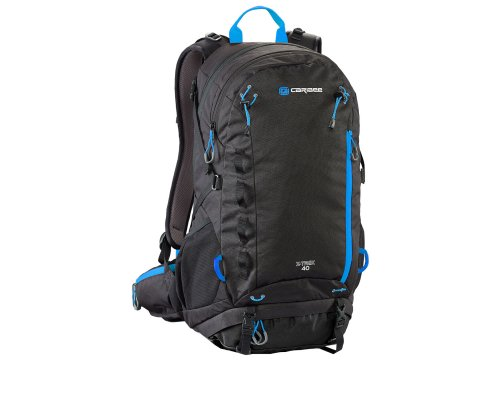 Caribee Daypack X-Trek 40 Black/Ice Blue