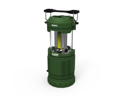 NEBO POPPY Laterna/prožektors 300lm zaļš