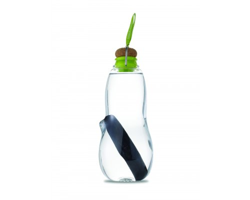 Black + Blum EAU GOOD Water Bottle - Set with 5 Charcoals Lime