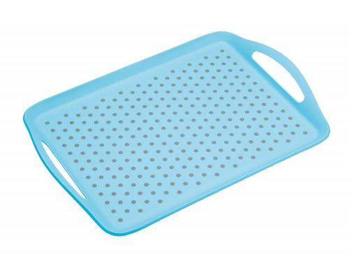 Colourworks Anti-Slip Serving Tray - Blue