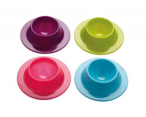 Colourworks Egg Cups, Assorted Colours, 8pcs. 2 Sets