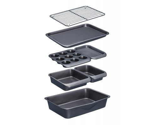 MasterClass Smart Space Seven-Piece Stackable Baking Set
