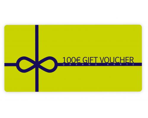 Подарочный е-купон airBaltic 100 Eur
