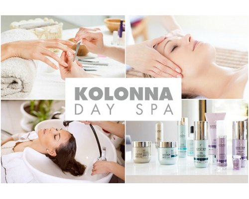 Kolonna beauty salon gift card, 10 Eur