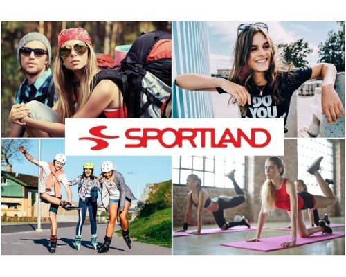 Sportland - sports and everyday apparel gift card 50 Eur