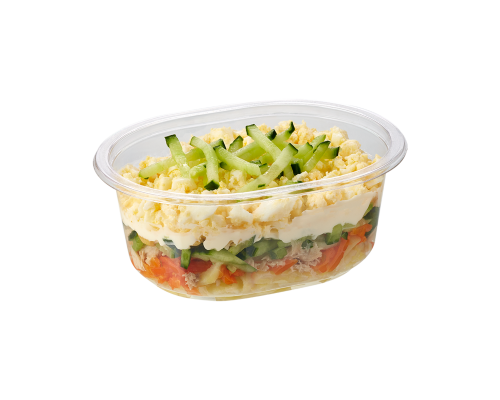 Narvesen layered salad with tuna. Price from