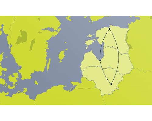 Vienvirziena lidojuma e-kupons –  1. reģions