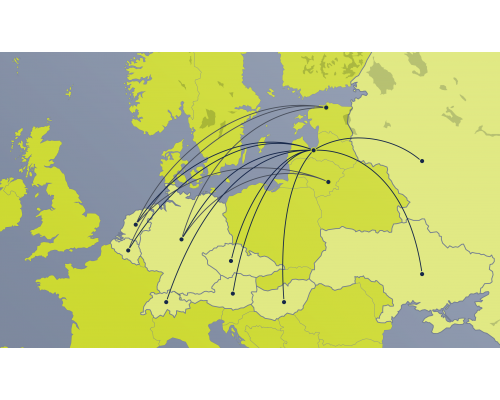 Vienvirziena lidojuma e-kupons –  3. reģions