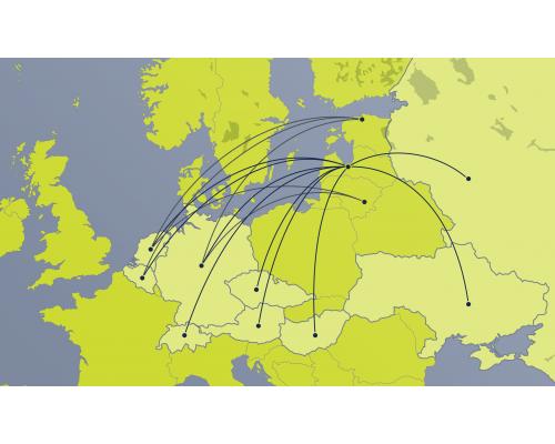 Edasi-tagasi äriklassi lennu e-kinkekaart – piirkond 3