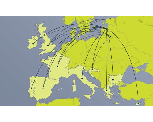 One-way Business class flight e-voucher – Region 4