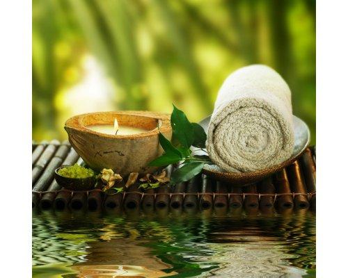 Snehana udwarthnam – oil powder massage with steam sauna to conclude