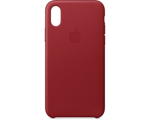 Apvalks iPhone X, ādas RED, MQTE2ZM/A