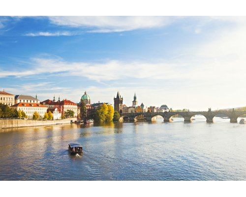 Рига - Прага полет в одну сторону