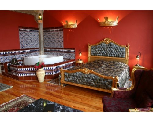 """Romantic relaxation in the hotel """"Fontaine Royal"""""""
