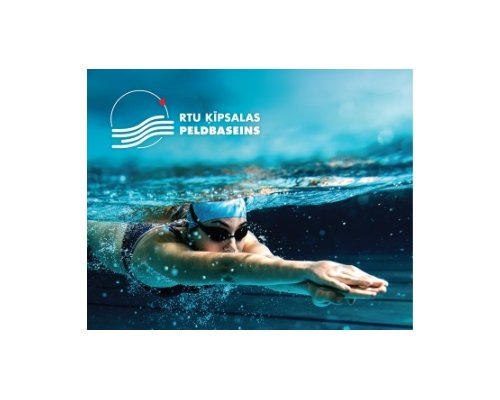 RTU Kipsalas swimming pool gift card 10 Eur